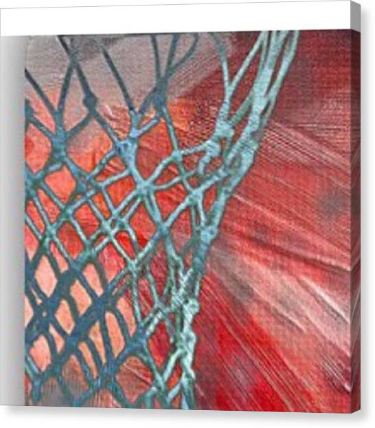 Basketball Teams Canvas Print - Michael Jordan. Air Jordan. The by David Haskett II