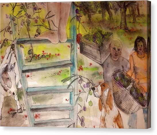my Apuglia dream album Canvas Print by Debbi Saccomanno Chan