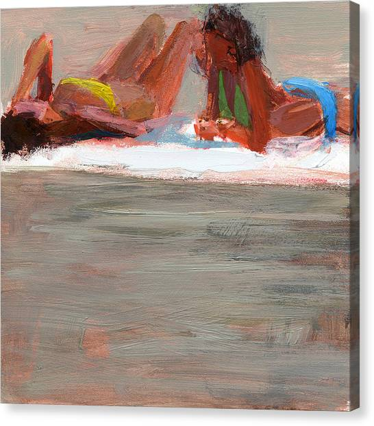 Bikini Canvas Print - Rcnpaintings.com by Chris N Rohrbach