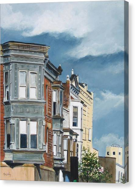 154th Canvas Print by William  Brody