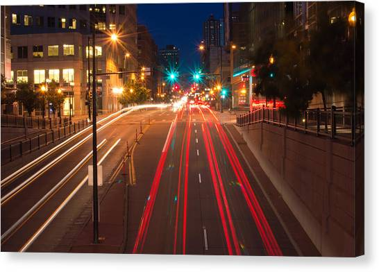 15th Street Canvas Print