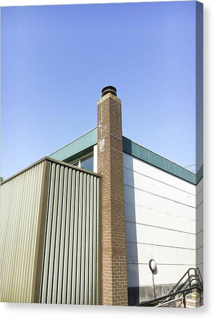 Aspect Canvas Print - Building Exterior by Tom Gowanlock