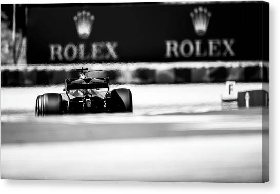 Fernando alonso canvas print formula 1 hungary 2017 by srdjan petrovic