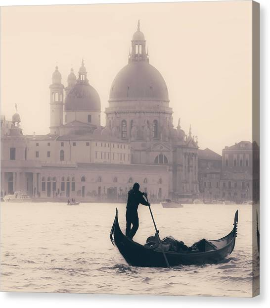 Church Canvas Print - Venezia by Joana Kruse