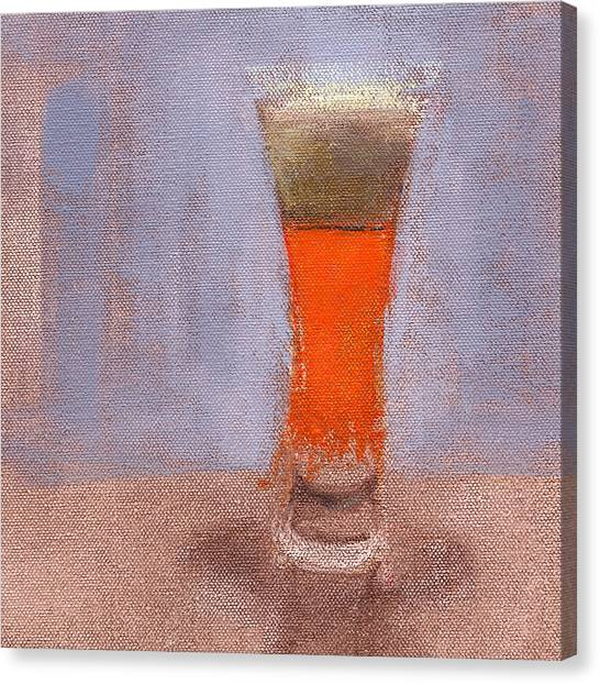 Beverage Canvas Print - Rcnpaintings.com by Chris N Rohrbach
