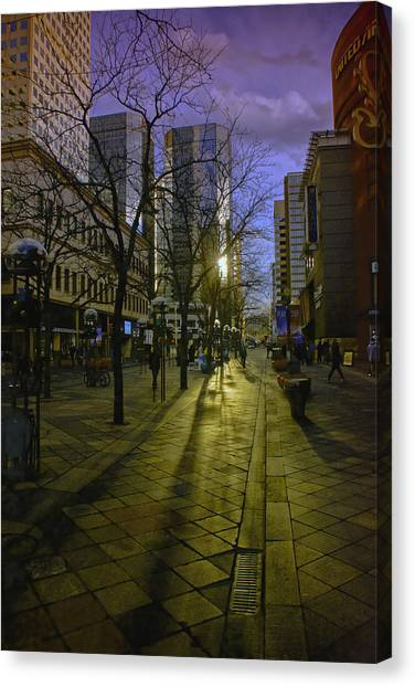 16th Street Mall Canvas Print