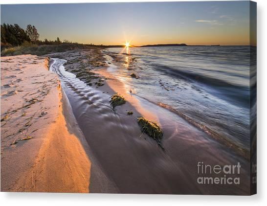 Northern Michigan Canvas Print - Good Harbor by Twenty Two North Photography