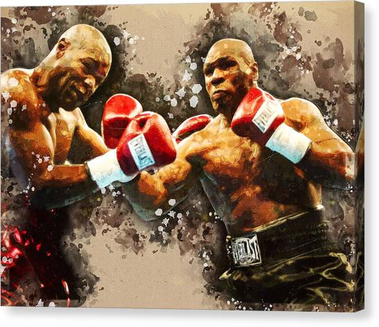 Canvas Print - Mike Tyson by Mike Tyson