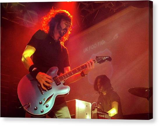 Uk Foo Fighters Live @ Edinburgh Canvas Print