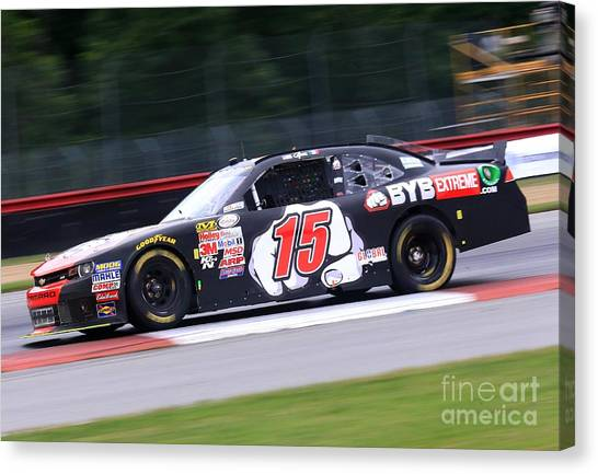 Richard Childress Canvas Print - Chevy Nascar Racing by Douglas Sacha