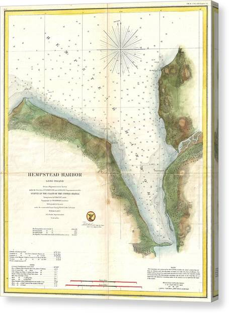 Long Island Map Canvas Prints Page 5 of 8 Fine Art America