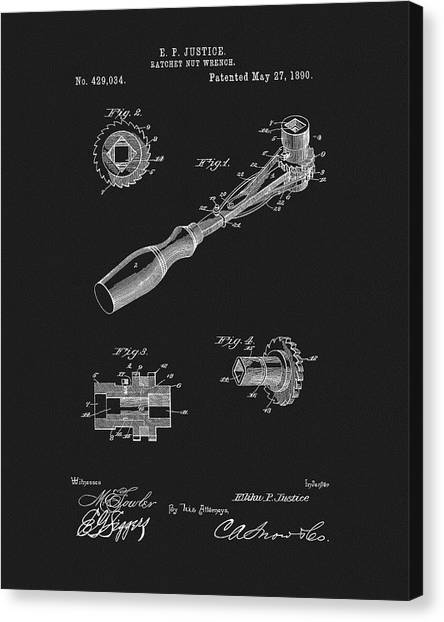 Do it yourself canvas prints page 3 of 8 fine art america do it yourself canvas print 1890 ratchet wrench patent by dan sproul solutioingenieria Choice Image