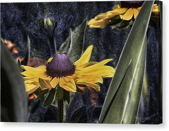 Thinking Of Vincent Van Gogh Canvas Print