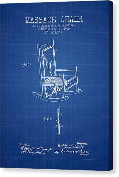 1900 massage chair patent blueprint digital art by aged pixel 1900 massage chair patent blueprint canvas print by aged pixel malvernweather Choice Image