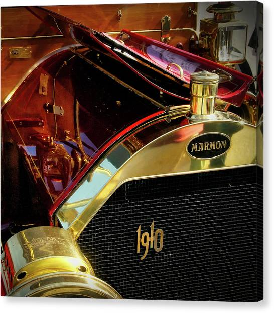 Canvas Print featuring the photograph 1910 Marmon by Samuel M Purvis III