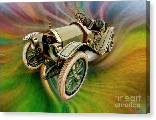 1912 Moon 30 Raceabout Canvas Print