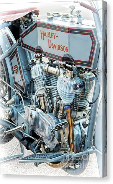 1915 Harley Davidson 11f Canvas Print