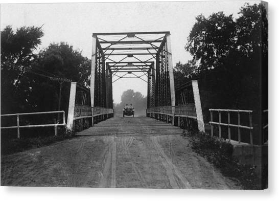 20th Canvas Print - 1915 Hudson Road Bridge by Greg Joens