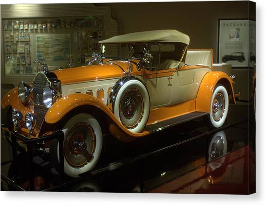1929 Packard Canvas Print