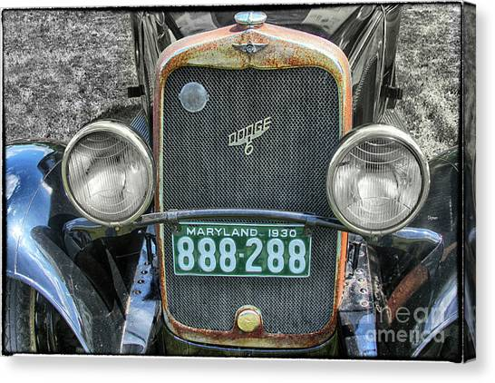 1930 Dodge Six  Canvas Print by Steven Digman