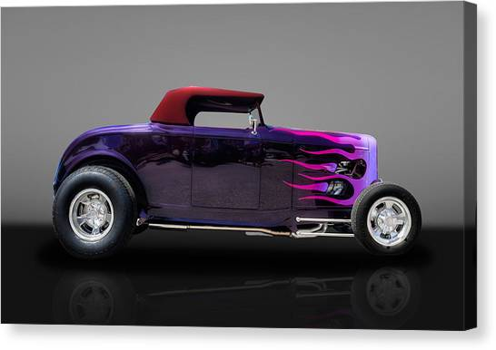 1932 Ford Convertible Canvas Print