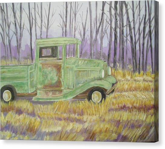 1932  Greenford Pickup Truck Canvas Print