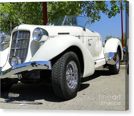 1935 Auburn 851 Boattail Speedster Canvas Print