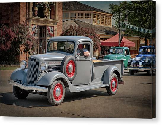 1936 Gmc T-14 Pickup  Canvas Print