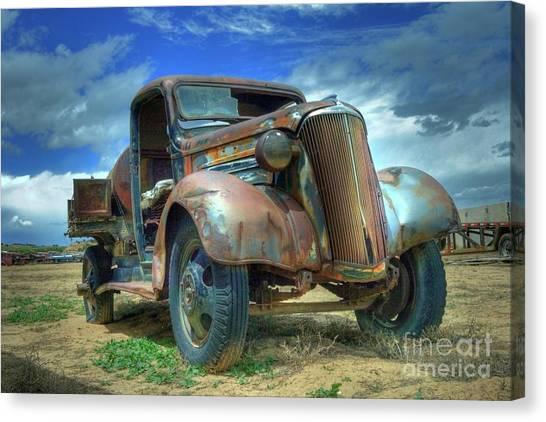1937 Chevrolet Canvas Print