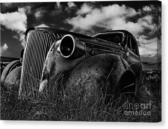 1937 Chevy Coupe Canvas Print