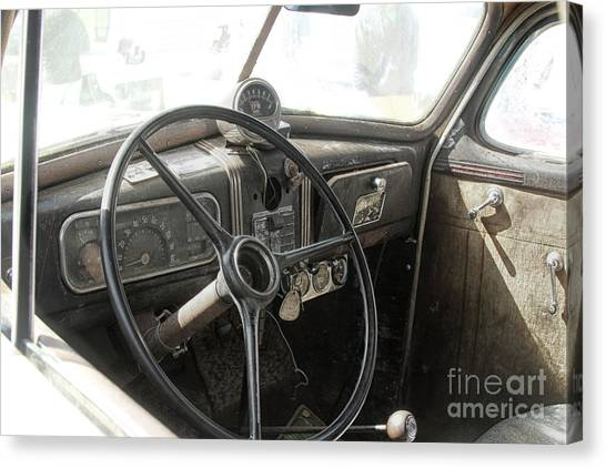 1937 Chevy  Canvas Print by Steven Digman