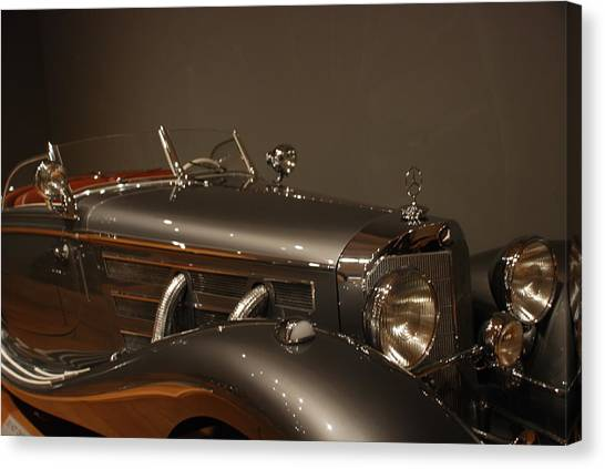 1937 Mercedes-benz 540k Special Roadster Canvas Print