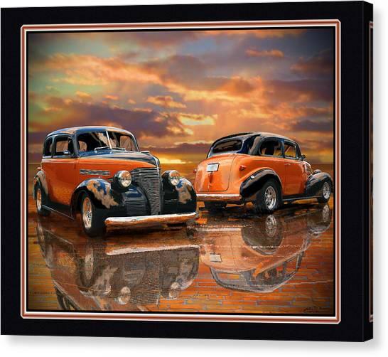 1939 Chevy Canvas Print by John Breen