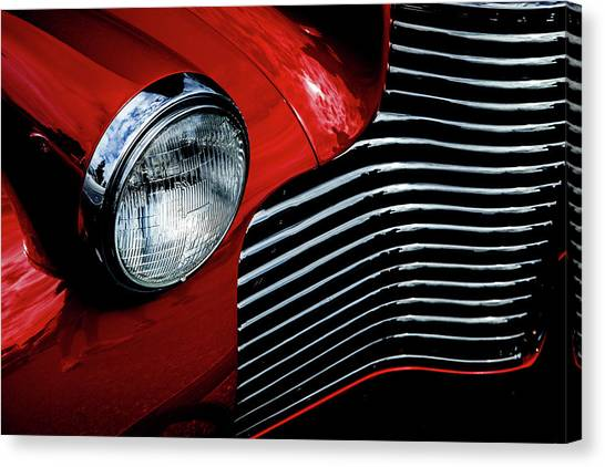 1940 Chevy 2-door Canvas Print