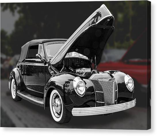 1940 Ford Deluxe Automobile Canvas Print