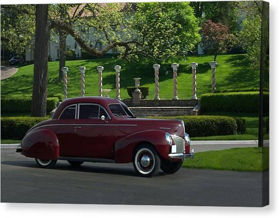 1940 Mercury Coupe Canvas Print