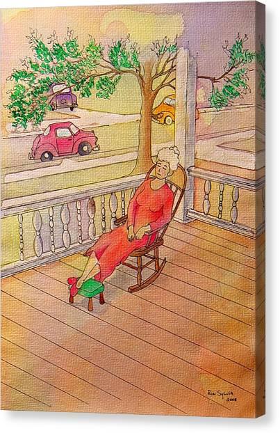 1940 Canvas Print by Ron Sylvia