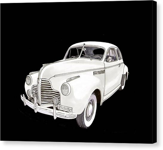 Canvas Print -  Chevrolet Master Deluxe Coupe by Jack Pumphrey