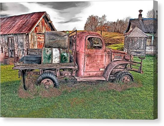 1941 Dodge Truck Canvas Print