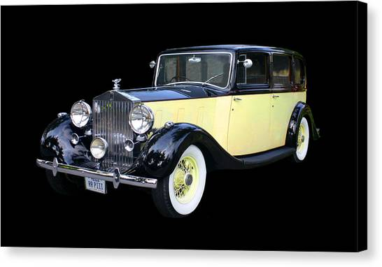 Canvas Print - 1941 Rolls-royce Phantom I I I  by Jack Pumphrey
