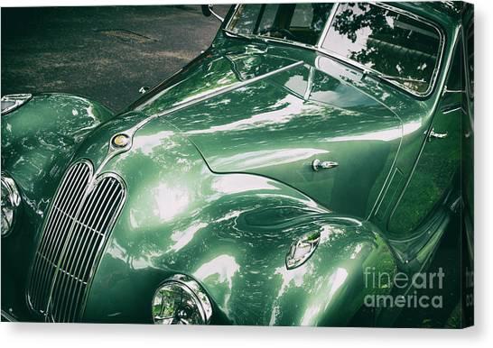 Brunch Canvas Print - 1949 Bristol 400 Classic Car by Tim Gainey