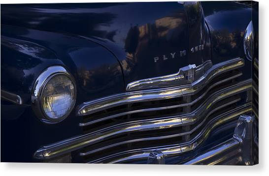 1949 Plymouth Deluxe  Canvas Print