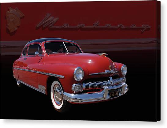1950 Mercury Monterey Canvas Print