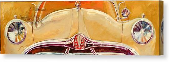 1951 Hudson Hornet Canvas Print by Ron Patterson