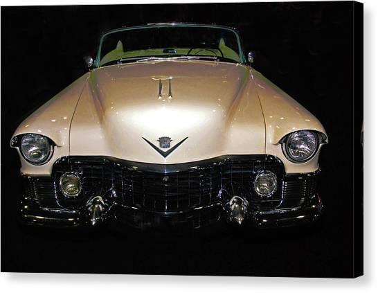 1953 Cadillac Le Mans Custom 2 Seat Convertible Canvas Print