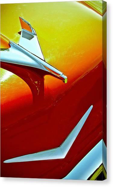 1956 Chev Bel Air Canvas Print