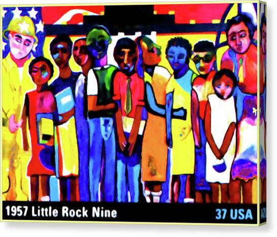 1957 Little Rock Nine Canvas Print