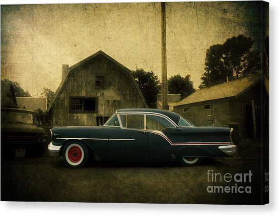 1957 Oldsmobile Canvas Print