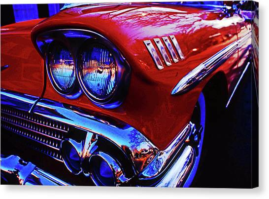 1958 Chevrolet Impala Canvas Print
