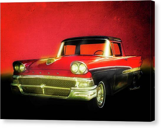 1958 Ford Ranchero 1st Generation Canvas Print